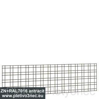 Panel Zenturo 650x200 mm ZN+RAL7016 Antracit