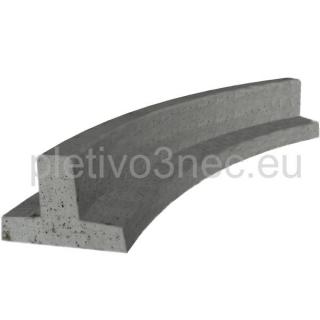 Zahradní obrubník betonový cena